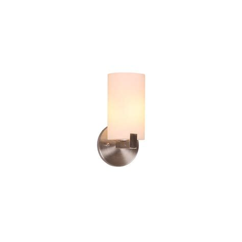 home depot wall lights indoor design house eastport 1 light satin nickel indoor wall
