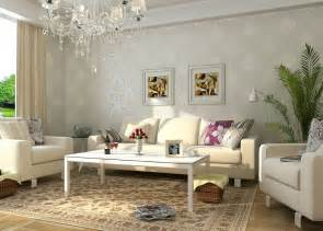 Beautiful Livingrooms Most Beautiful European Living Room With Wallpaper