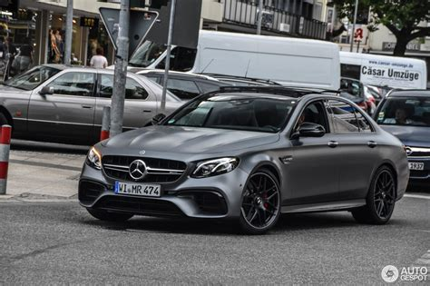E 63 S by Mercedes Amg E 63 S W213 Edition 1 17 June 2017 Autogespot