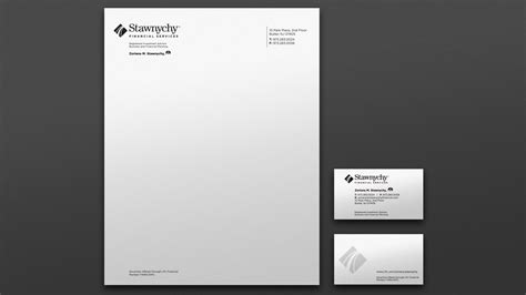 stawnychy financial services logo design trillion creative