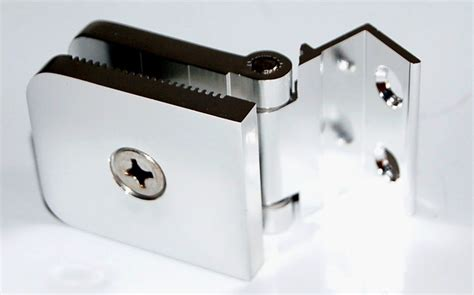 Frameless Shower Door Hinge Adjustment New X2 Heavy Duty Adjustable 1 4 Quot Glass Frameless Shower Chrome Hinge Hinges Ebay