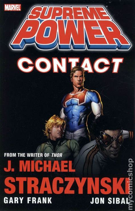 supreme power supreme power contact tpb 2010 marvel 2nd edition 1 1st nm