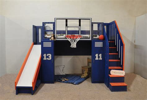 ultimate basketball bunk bed tanglewood design