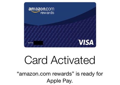 amazon visa amazon rewards visa card adds support for apple pay