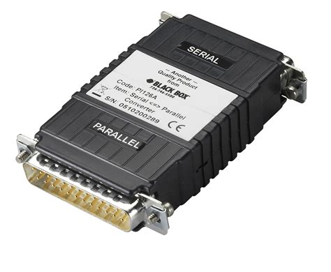 parallel serial async rs232 to parallel converter 2 db25 interface pwr