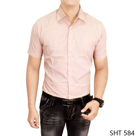 Kaus Kaos Polos Kasual Slim Fit Krem Ukuran Xl model kemeja terbaru 2016 sht 584 kemeja pria terbaru