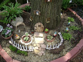 garden gnome village images  pinterest