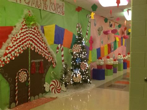 christmas hall themes candy land hall decorations candy land decorations