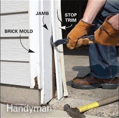 Garage Door Jamb Repair Vinyl Garage Door Trim And What You Need To Home