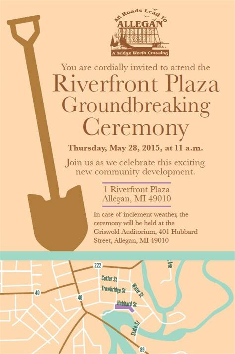 groundbreaking ceremony invitation templates new office invitation chatterzoom