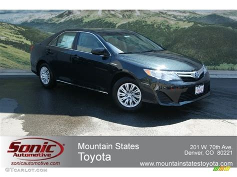 Toyota Camry Cosmic Gray Mica 2012 Cosmic Gray Mica Toyota Camry Hybrid Le 68093103