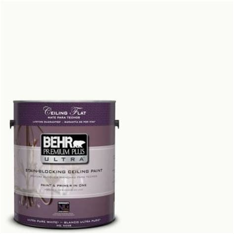 behr premium plus ultra 1 gal ppu18 6 ceiling tinted to