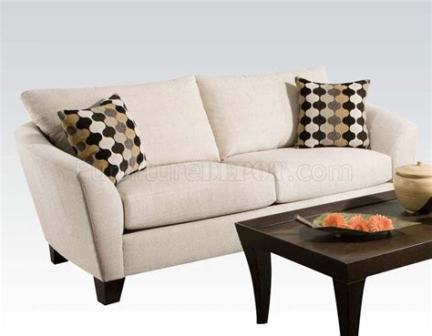 sofa butler 51010 desmond sofa in butler oyster fabric by acme w options