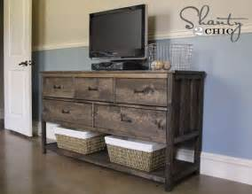 diy dresser plans pottery barn inspired diy dresser shanty 2 chic