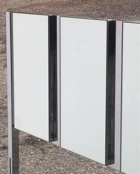 mirrored headboards for sale ello mirrored and chrome king sized headboard for sale at