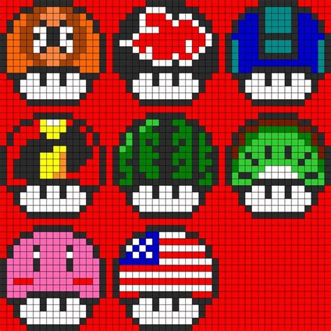 nintendo perler bead patterns 17 best images about perler on