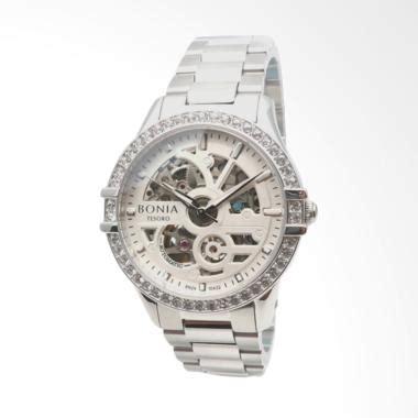 Jam Tangan Bonia Silver White jual tas dompet jam tangan bonia model terbaru