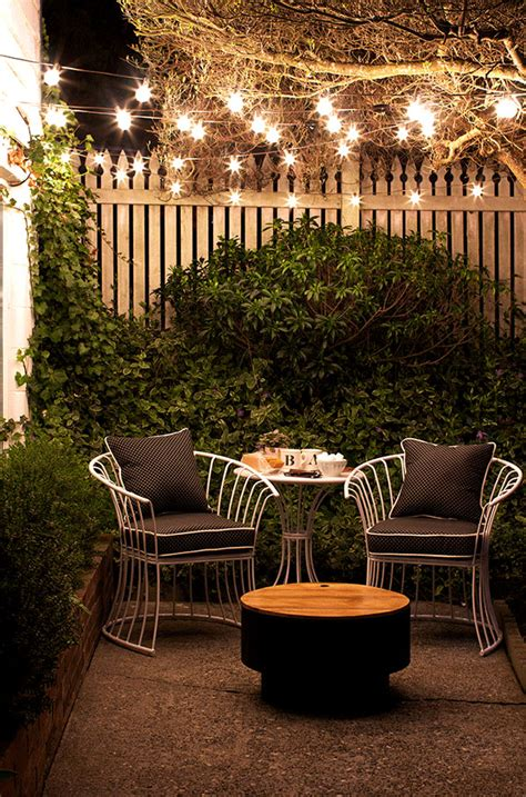 Small Patio Decorating Ideas For Renters And Everyone Patio String Light Ideas