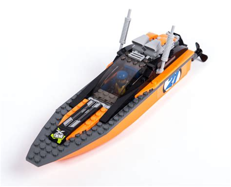 Lego 60085 City 4x4 With Powerboat lego city 4x4 with powerboat 60085 pley buy or rent