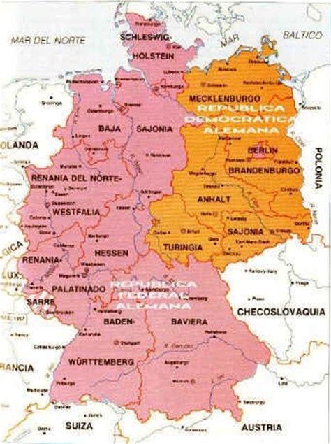 map east germany west germany east and west germany west germany places i ve been