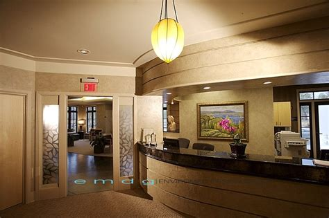 dental office front desk design enviromed design dental office design