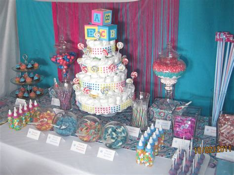 Baby Shower Buffet Table Dessert Table Melissa S Baby Shower Dessert Table