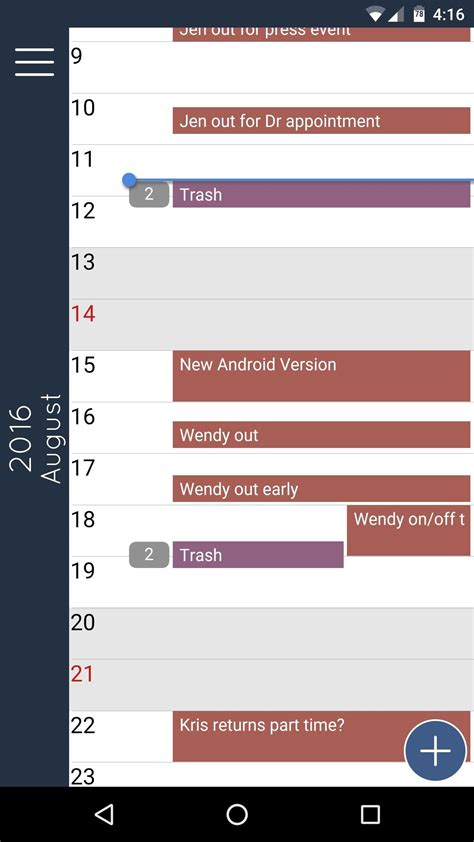 free calendar apps for android the best free calendar apps for android 171 android gadget hacks