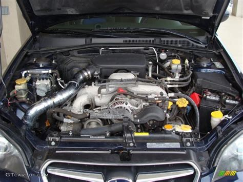 subaru legacy engine 2005 subaru legacy 2 5i sedan engine photos gtcarlot com