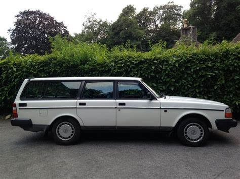 volvo   auto white immaculate classic station wagon mint  congresbury bristol gumtree