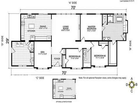 trailer floor plans single wides single wide double wides trailer bestofhouse net 34515