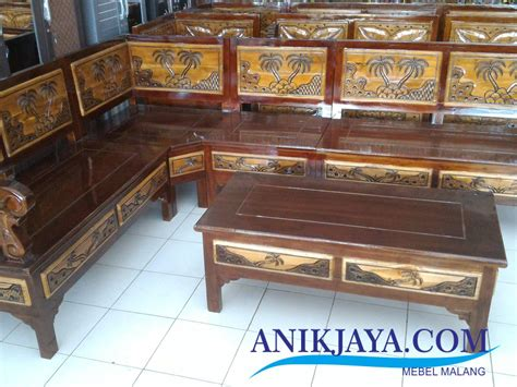 Kursi Ukir Jepara kursi kayu jati ukir jepara l set desain pantai mebel