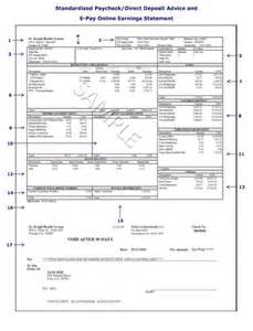 payroll stub template 25 great pay stub paycheck stub templates