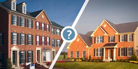 townhome vs single family home which one is for you