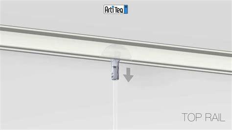 binari per tende a soffitto installazione binari da soffitto