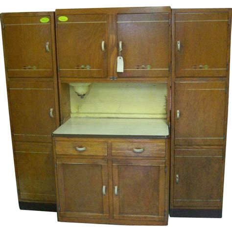 sellers kitchen cabinets oak sellers brand kitchen work center hoosier type