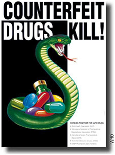 Can Detox From Drugs Kill You by Counterfeiting Of Prescription Drugs October 2008