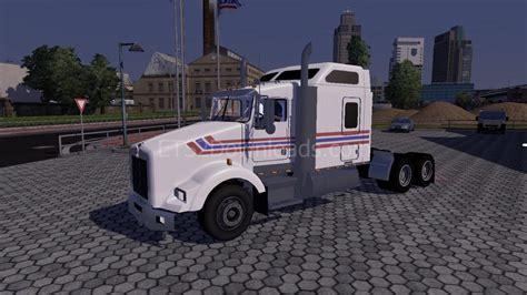 kenworth t800 truck kenworth t800 euro truck simulator 2 mods