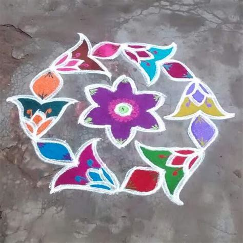 simple pattern rangoli simple and easy rangoli designs for home rangoli kolam