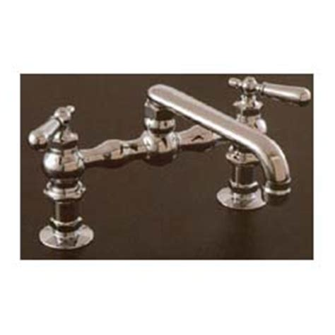 kitchen faucet vintage style bridge house web