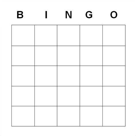 microsoft word bingo card template blank bingo card template microsoft word bingo template