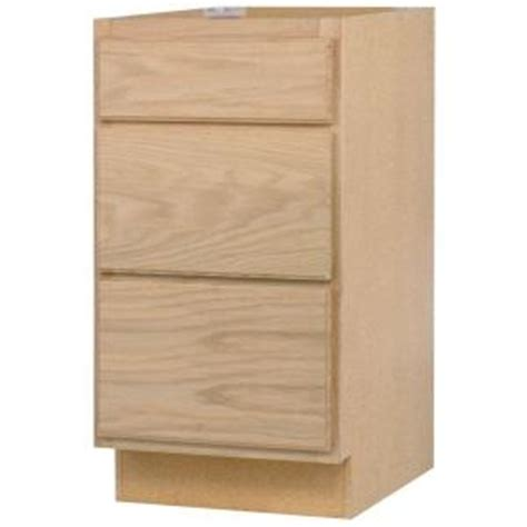 unfinished oak kitchen cabinets home depot assembled 24x34 5x24 in base kitchen cabinet with 3