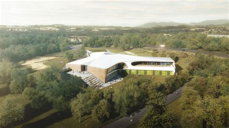 Simply Overal Lava lava conceives y shaped bayreuth youth hostel in germany