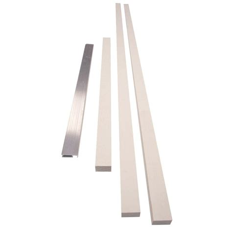 Exterior Door Threshold Extension Jeld Wen 5 8 In Exterior Door Jamb Extension Kit With Mill Sill Hd649802 The Home Depot