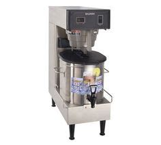 Dispenser Low Watt professional iced tea brewers for commercial restaurants on