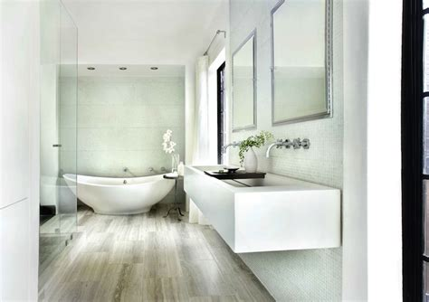Floating Trough Sink   Contemporary   bathroom   HammerSmith