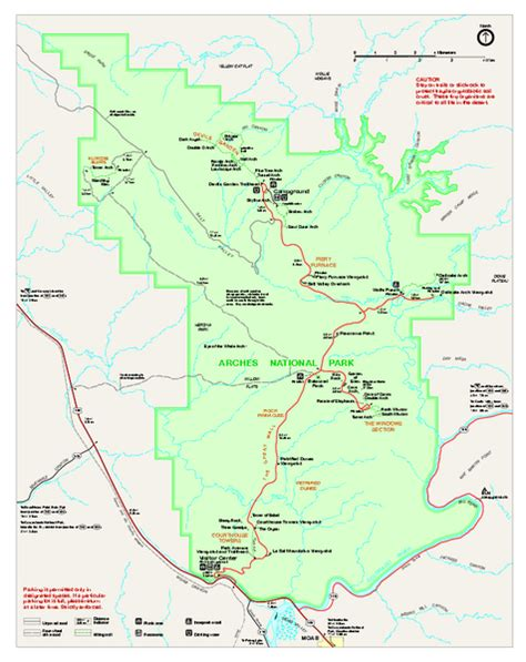 arches national park map arches national park map picture image by tag keywordpictures
