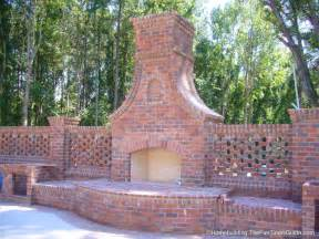 outside brick wall designs design guide for outdoor firplaces and firepits garden