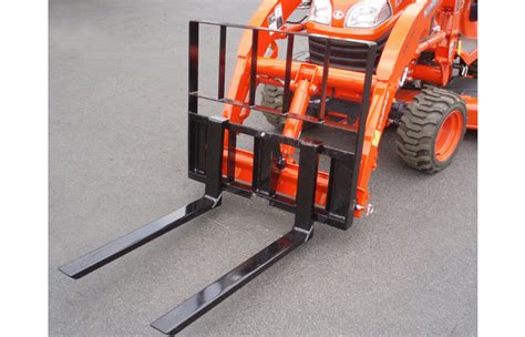 kubota bx forks attach forks for kubota bx tractors earth and turf