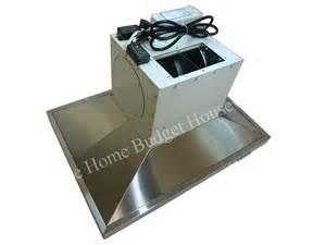 stainless steel 30 quot kitchen fan oven range hoods island