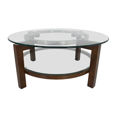 famous coffee table 80 off cb2 cb2 glass top coffee table tables